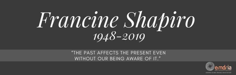 The Founder of EMDR has died RIP Francine Shapiro